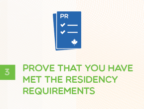 Step 3 - Prove That You Have Met the Residency Requirements