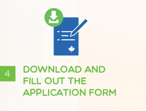 Step 4 - Download and Fill Out The Application Form