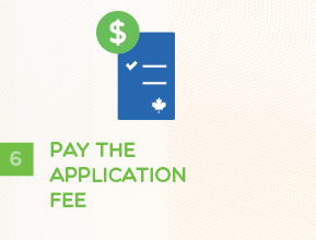 Step 6 - Pay The Application Fee